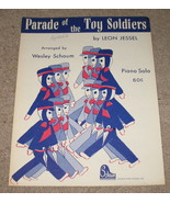 Parade of the Toy Soldiers Sheet Music Piano So... - $8.45