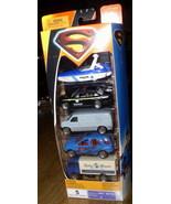 Superman set of 5 Die Cast Metal Matchbox vehicles - $22.99