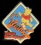 Disneyland Tokyo Pooh Tigger japanPin/Pins