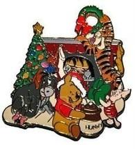 Disney WDW - Winnie the Pooh - Happy Holidays  Pin/Pins - $16.40