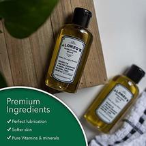 Alonzo's Sensational Premium Natural Shaving Oil for Men | Works as Moisturizing image 8