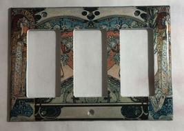 Art Nouveau Artists Light Switch Duplex Outlet Wall Cover Plate Home decor image 6