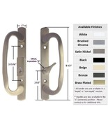 Sash Controls Mortise Style Patio Handle, B-Position, Keyed, Satin Nickel - $64.30