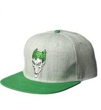 DC Comics Warner Bros. Men's Joker Wool Viscose Baseball Cap, Adjustable - $19.59