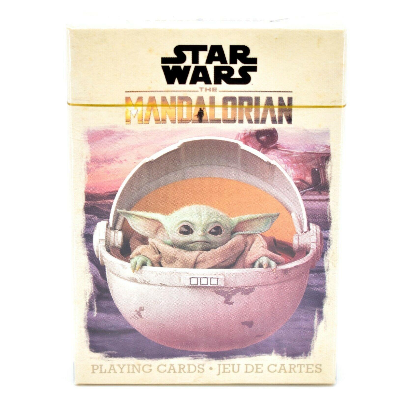 Aquarius Star Wars The Mandalorian The Child Baby Yoda Theme Playing Cards