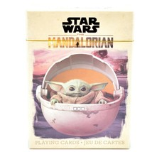 Aquarius Star Wars The Mandalorian The Child Baby Yoda Theme Playing Cards image 1
