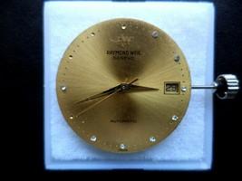SWISS  2892-2 ETA  21 JEWEL RAYMOND WEIL 28mm DIAL WITH HANDS, STEM, CROWN. - $74.25