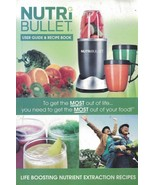 NutriBullet User Guide & Recipe Book NM-IM001M-23 Nutrient Extraction Re... - $9.40