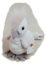 TY Beanie Baby Original Kuku Birthday January 5 1997 White Bird Stuffed ... - $14.69
