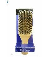 Original Diane Reinforced Boar Bristle Club/Wave Brush with Cursive Dian... - $18.99