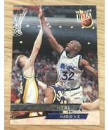1993-94 FLEER ULTRA SHAQUILLE O'NEAL ORLANDO MAGIC CARD #135 - $1.49