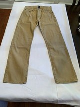 Gap Pants Mens Size 29 X 30 Standard Khaki Tan Cotton Straight Leg - $19.79