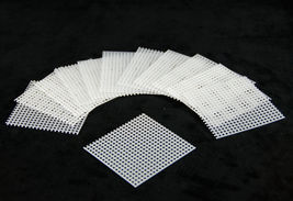 "20 Pcs. 2.5""x 2.5"" Plastic Drainage Mesh / Screen / Net For Bonsai Pot #... - $14.17"
