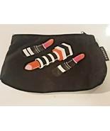SEPHORA Women's Lipstick Logo Make Up Bag  Black 9 x 6 - $8.90