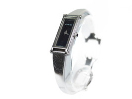 Auth GUCCI 1500L Stainless Steel Black Dial Ladies Watch GW17248L - $210.98 CAD
