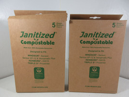 Janitized COM-WISEN-4(5) Compostable Vacuum Bags Windsor Sensor Kenmore ... - $14.80