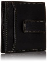 Timberland Men's Premium Genuine Leather Money Clip Credit Card Id Wallet image 3