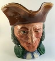 """Royal Doulton Toby Jug/Mug The Vicar of Bray 6-3/4"""" Vtg - $43.20"""