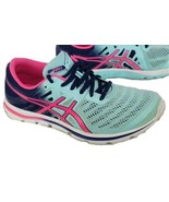 Asics Gel Womens Electro33 T461N Size 8 Blue Pink Running Training Shoes  - $31.75