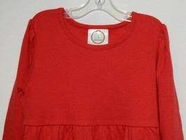 Blanks Boutique Long Sleeve Empire Waist Red Ruffle Dress Size 5T image 2