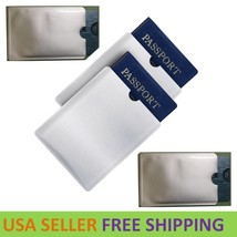RFID Blocking Sleeves Travel Set for Security of Credit/Debit Cards and ... - $3.00+