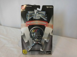"Power Rangers Mighty Morphin The Movie Black Ninja Ranger 2.5"" Figur Bandai 1995 - $10.91"