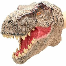 T-Rex Dinosaur Realistic Soft Plastic Hand Puppet Toy for Kids Tyrannosa... - $13.85