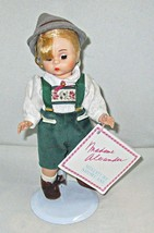 Hansel Storybook Doll by Madame Alexander 1990 on Stand Made in USA - $12.95