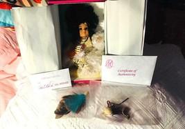 Marie Osmond Mato Native AmericanTiny Tot Doll NEW BOX COA - $29.09