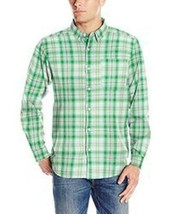 Columbia Out And Back L/S Green / White Plaid Shirt Men's Xl Nwt $50 Retail - $38.95