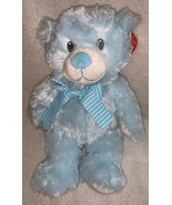 Ty Pluffies Blue Sweet Baby My First Teddy Bear 2017 Plush Stuffed Toy M... - $17.81