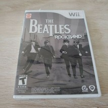 The Beatles Rock Band (Nintendo Wii, 2009) New & Factory Sealed Free Shi... - $29.70