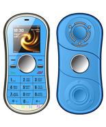 servo s08 spinner dual sim blue bluetooth fm english russian keyboard ce... - $38.80
