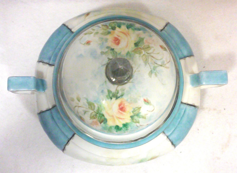 Bavaria Germany Bareuther Art Deco Porcelian Soup Tureen