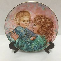 Royal Doulton Kathleen and Child Edna Hibel Plate Limited Edition in Box  - $19.79