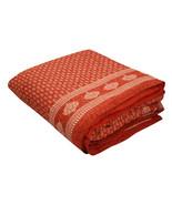 Home Furnishing Bedding Quilt Bedspread Tamarind Buti Jaipuri Block Print - $47.00