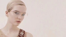 Authentic Christian Dior 2019 J'ADIOR CD Logo Multi Charm Dangle Earrings Gold image 10