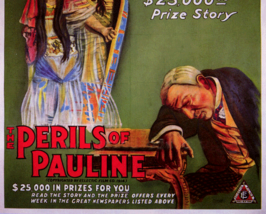THE PERILS OF PAULINE, 12 CHAPTER SERIAL, 1914 - $19.99