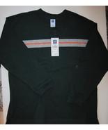 Gap Kids Boys Long Sleeve Green Stripe Shirt Si... - $7.00
