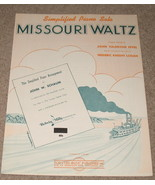 Missouri Waltz Sheet Music - Simplified Piano Solo - 1950    - $7.99