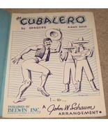 The Cubalero Sheet Music by Sanders - Piano Solo - $7.99
