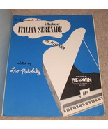 Italian Serenade Sheet Music Piano Solo - Podol... - $7.99