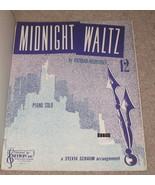 Midnight Waltz Sheet Music - R. Heuberger - Pia... - $7.99