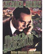 Sherlock Holmes - Murder At The Baskervilles(DVD, 2003) - $5.75