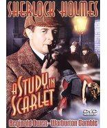 Sherlock Holmes - A Study in Scarlet (DVD, 2003) - $5.75