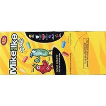 Product Of Mike&Ike, 25C Sour Licious Intense Fruit, Count 24 (0.78 oz) ... - $12.60