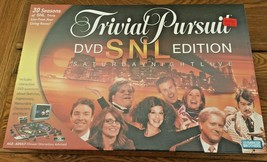 Trivial Pursuit DVD SNL Edition Saturday Night Live New Factory Sealed - $14.99