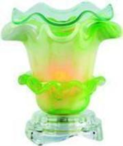 Pale Green Parfit Electric Glass Oil or Tart Warmer - $15.50