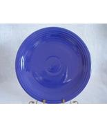 Vintage Fiestaware Cobalt Chop Plate Fiesta  A - $33.60