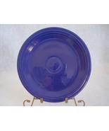 Vintage Fiestaware Cobalt Lunch Plate Fiesta  F - $12.80